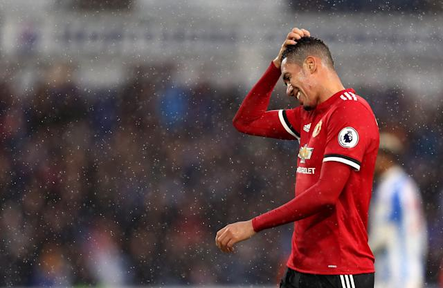 Chris Smalling and Manchester United fans are left scratching their heads after defeat at Huddersfield