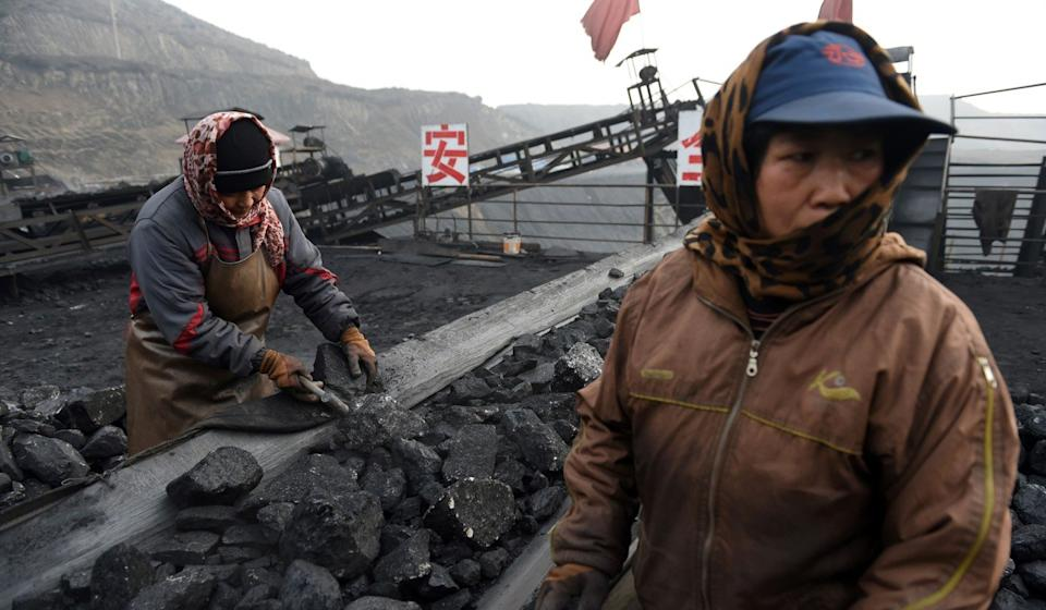 The Chinese government regards coal as an important domestic industry and source of energy security. Photo: AFP