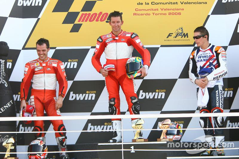 """#7 - Troy Bayliss - GP de Valencia 2007<span class=""""copyright"""">Gold and Goose / Motorsport Images</span>"""