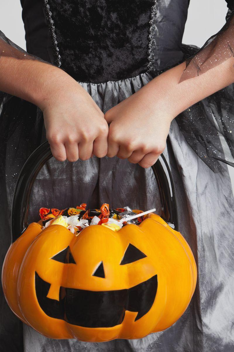 """<p>Answer: Got <a href=""""https://www.womansday.com/food-recipes/food-drinks/g1931/leftover-halloween-candy-recipes/"""" rel=""""nofollow noopener"""" target=""""_blank"""" data-ylk=""""slk:leftover Halloween candy"""" class=""""link rapid-noclick-resp"""">leftover Halloween candy</a>? Save it for later! Dark and milk chocolates can last up to two years if stored in a dry, odor-free spot. Hard candy can last up to a year and unopened packages of <a href=""""https://www.womansday.com/home/crafts-projects/how-to/a5178/preserving-your-candy-corn-wreath-111388/"""" rel=""""nofollow noopener"""" target=""""_blank"""" data-ylk=""""slk:candy corn"""" class=""""link rapid-noclick-resp"""">candy corn</a> can last nine months. <br></p>"""
