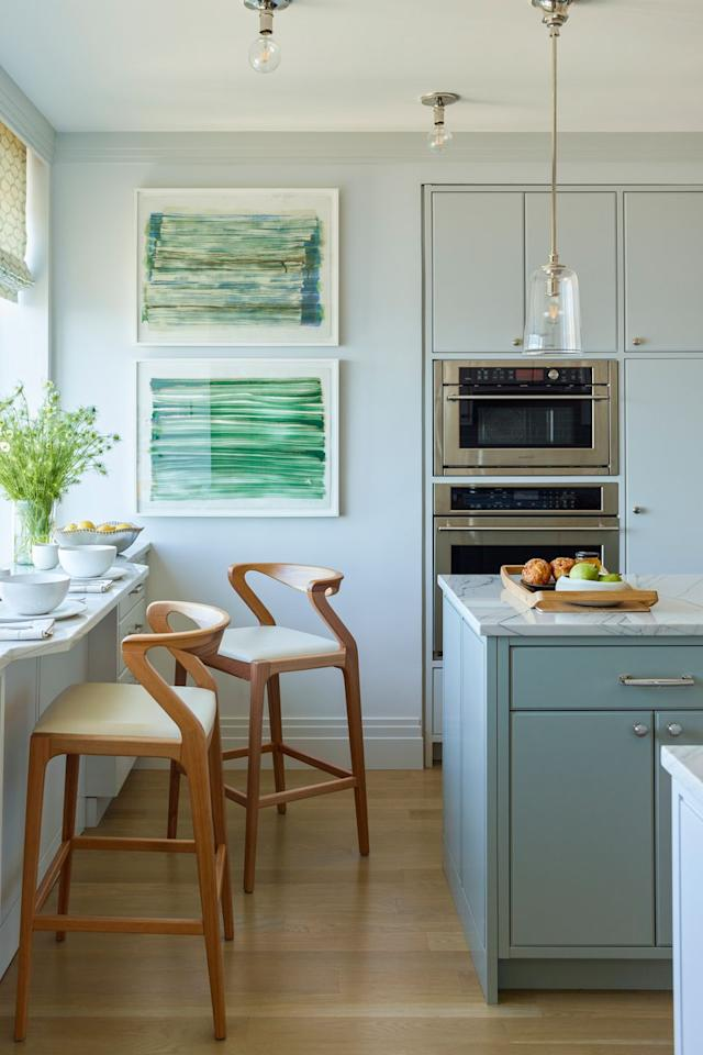 "<p>""The kitchen is the heart of the home and is where families come together, so if the room feels old, outdated, and things don't work, a buyer will immediately feel it,"" says designer Gideon Mendelson of <a rel=""nofollow"" href=""http://www.mendelsongroupinc.com/portfolio"">Mendelson Group</a>. Updated appliances, backsplashes, and countertops will immediately stand out.</p>"