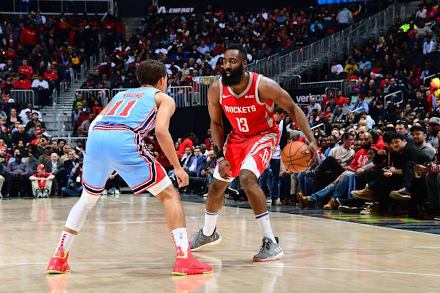 No one can stop James Harden from dropping 30+ points. (Photo by Scott Cunningham/NBAE via Getty Images)