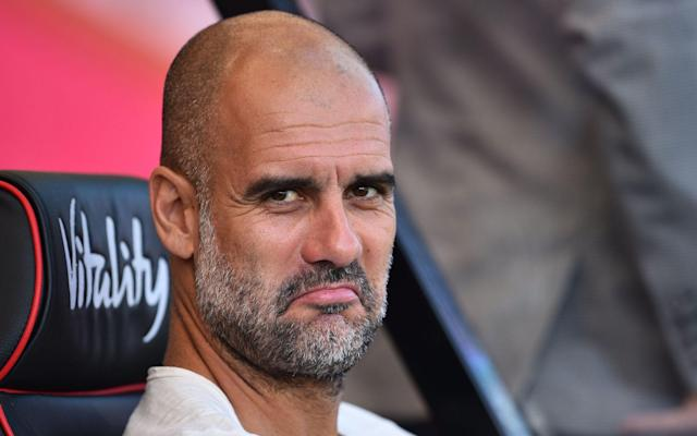 Pep Guardiola's Manchester City are in Group C along with Shakhtar Donetsk, Dinamo Zagreb, and Atalanta - AFP