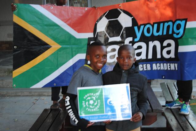Two lucky members of Young Bafana have been given an opportunity to attend the Fifa World Cup opening ceremony in Russia