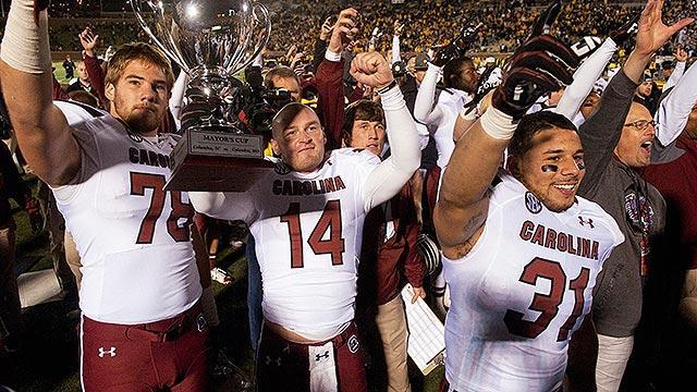Missouri's cursed lore adds another chapter with 'Shaw-shank' loss to South Carolina