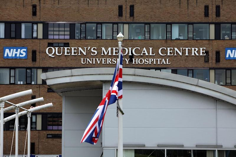 Queens Medical Centre and University Hospital: Getty Images