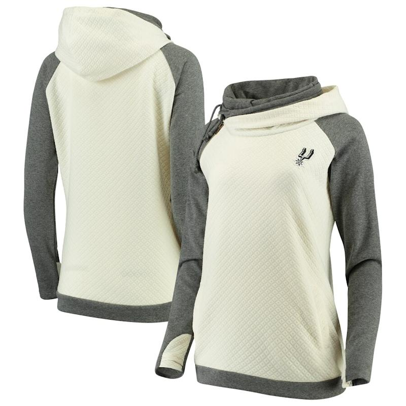 Women's Spurs Pullover Funnel Neck Hoodie