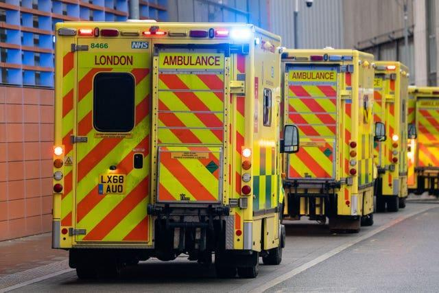Ambulance drivers have also been approached (Dominic Lipinski/PA)