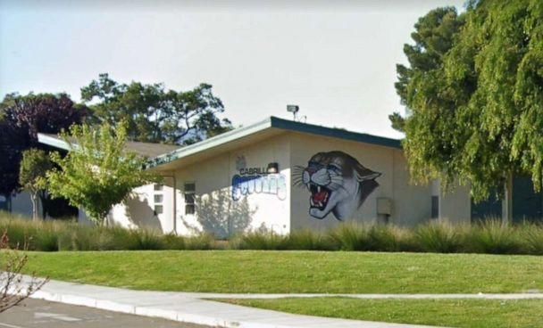 PHOTO: Cabrillo Middle School in Santa Clara, California. (Google Maps Street View )