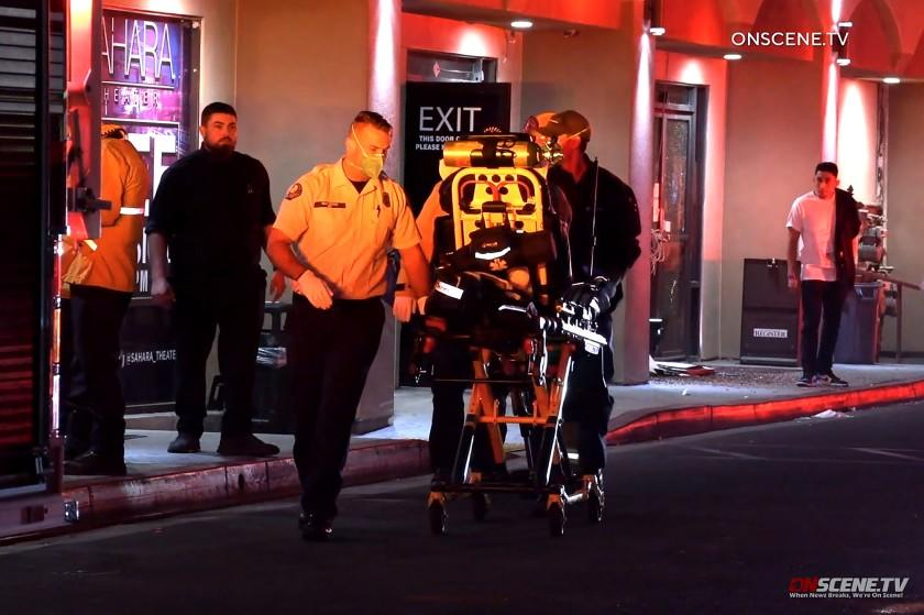 ANAHEIM, CALIF. - OCT. 31, 2020 - A shooting at the Sahara Theater gentleman's club in Anaheim this morning injured four people .The shooting occurred at 1210 S. State College Blvd, near Ball Road, at 1:35 a.m. when one person approached the business and shot into the club,where 30 to 50 people were inside at the time, according to Sgt. Shane Carringer of the Anaheim Police Department. (OnScene.tv)