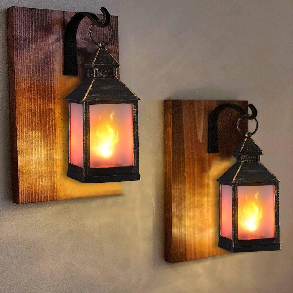 """<p>The <span>Zkee 11"""" Vintage Style Decorative Lantern (Set of 4)</span> ($46) will look stunning in the summer evenings.</p>"""
