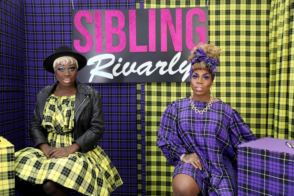 Bob and her Sibling Rivalry cohost, Monet XChange.