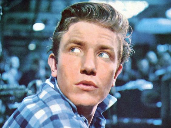 Finney as factory worker Arthur Seaton in the 1960 film 'Saturday Night and Sunday Morning' (Getty)