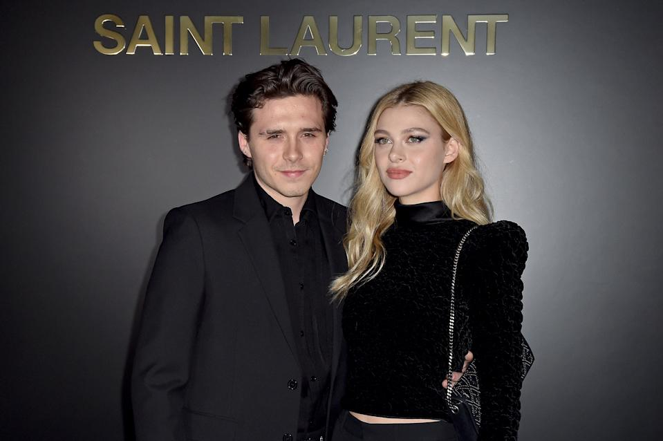 Brooklyn Beckham and Nicola Peltz announced their engagement on July 11, 2020. (Photo: Dominique Charriau/WireImage)