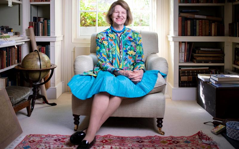Baroness Nicholson at her London home