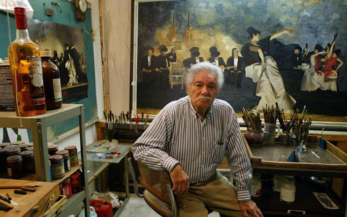 American lawyer Robert Mardirosian was jailed for seven years for his involvement in the stolen Cezanne painting - AP