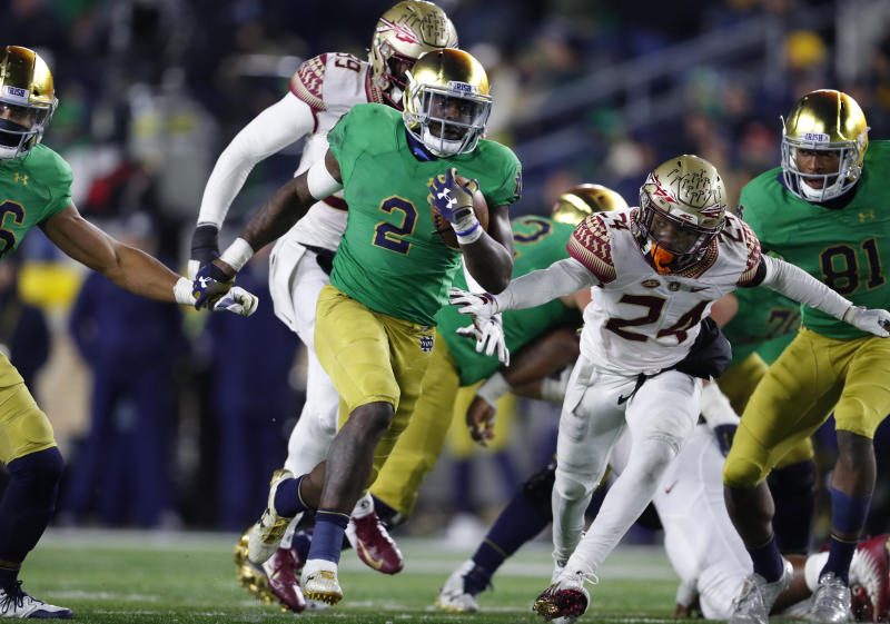 30bc66f4b Big game on any stage  No. 3 Notre Dame vs. No. 12 Syracuse