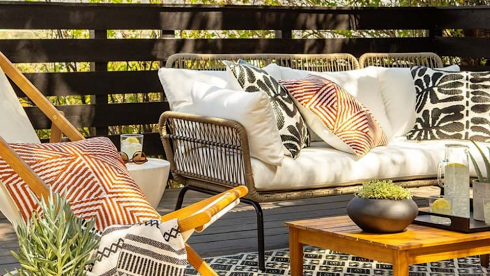 Your patio will be the talk of the town.