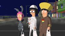 "<p> Bob's Burgers always does Halloween right, often focusing on the time-tested tradition of trick or treating. After all, the Belcher offspring – Tina, Gene, and Louise – are the perfect companions for a spooky door-to-door adventure that very often spirals out of control. </p> <p> ""Full Bars,"" though is the best of a very, very good bunch – the plot wouldn't look out of place in the upcoming Bob's Burgers movie as the kids head to King's Head Island and must avoid the fearsome teenage group terrorising children with The Hell Hunt. Elsewhere, a whodunnit transpires as Teddy's hamster dies at a Halloween party, with the pedantic handyman becoming increasingly frantic as the night wears on. </p>"