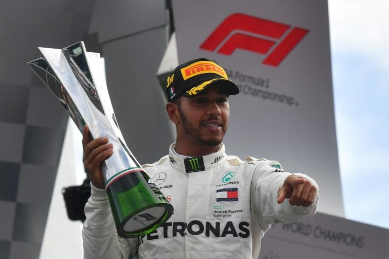 Bold: Hamilton wins the 2018 Italian Grand Prix on Ferrari's home ground at Monza