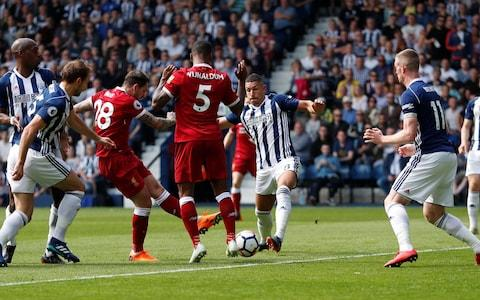 west brom vs liverpool - Credit: REUTERS