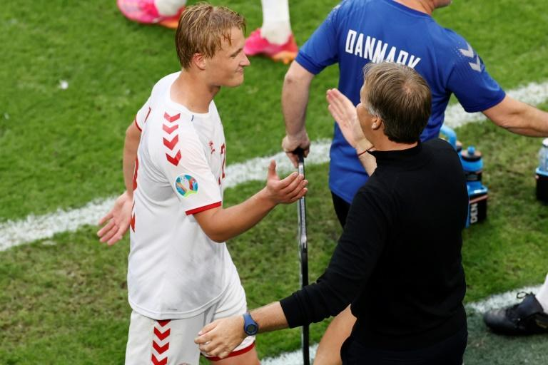 Kasper Dolberg was Denmark's hero against Wales on Saturday but he could hardly have endured a more trying year building up to Euro 2020