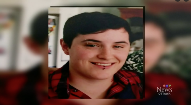 Adam Prashaw, 22, died of a seizure two years ago and his father keeps in touch with the recipient of his donated heart. (Photo: CTV News)