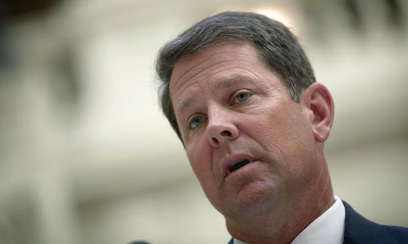 Brian Kemp faces Democrat Stacey Abrams in the midterms.