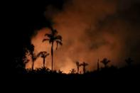 Fires surge in Brazilian Amazon for the third straight year in Canutama
