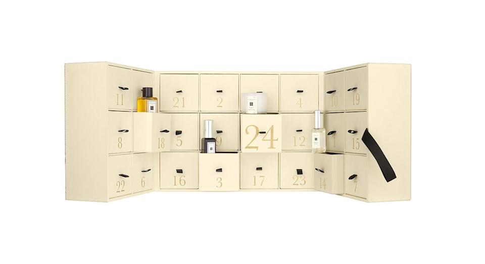 <p>Filled with 24 surprises, the Jo Malone calendar is a huge treat for fans of the brand. Available nationwide from November 2018. </p>