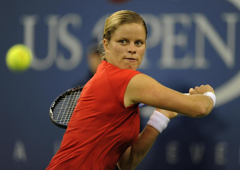 Kim Clijsters' first comeback saw her win the US Open in 2009. AFP PHOTO / TIMOTHY A. CLARY (Photo credit should read TIMOTHY A. CLARY/AFP/Getty Images)