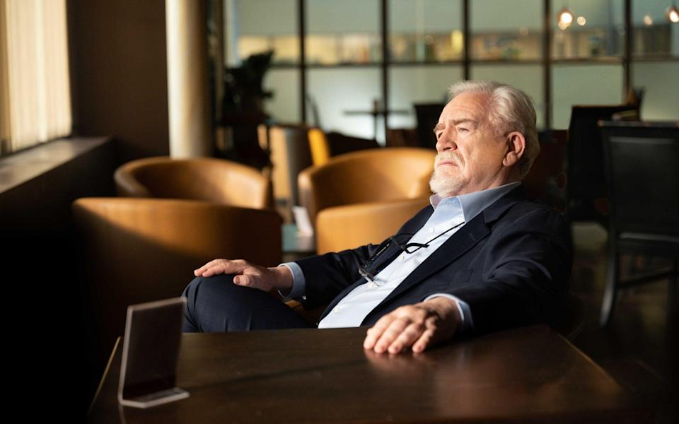 Brian Cox stars as Logan Roy in the HBO drama Succession - HBO