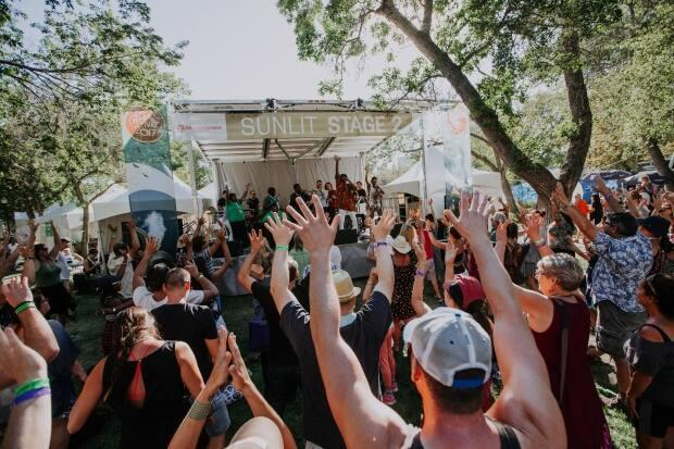 The Regina Folk Festival celebrated 50 years in 2019 and had to do small programming in 2020 due to the COVID-19 pandemic.  (Chris Graham/Regina Folk Festival - image credit)