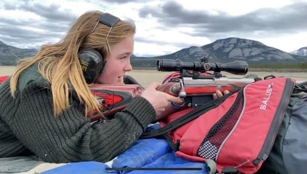 As soon as Hannah Welsh of Whitehorse turned 12 earlier this year, she approached her mom and dad asking to lead the family's annual moose hunt. (Jim Welsh - image credit)