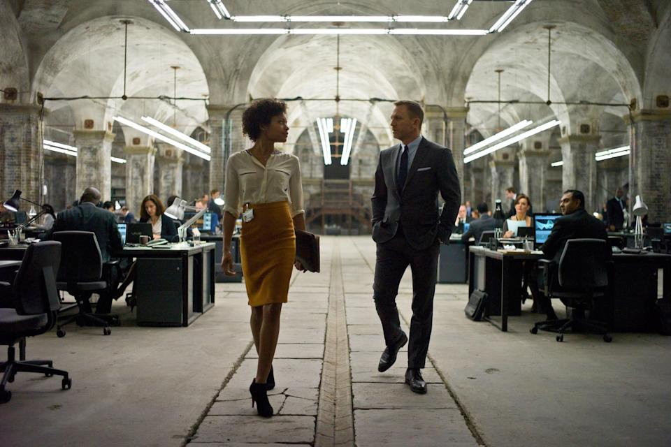 """<p>Bond, <em>James Bond</em>. The famous British spy comes back in <em>Skyfall</em>, the 23rd movie (yes, you read that correctly) in the long-running franchise, and Daniel Craig's take on the character is one of the best. Bond's allegiance is tested after the head of MI6 (a.k.a. his boss) has to deal with the consequences of her past actions coming to light.</p> <p><a href=""""https://www.amazon.com/Skyfall-Daniel-Craig/dp/B00B5HQKNI"""" rel=""""nofollow noopener"""" target=""""_blank"""" data-ylk=""""slk:Available to rent on Amazon Prime Video"""" class=""""link rapid-noclick-resp""""><em>Available to rent on Amazon Prime Video</em></a></p>"""