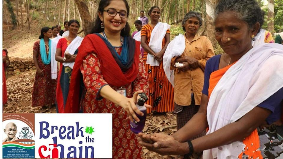 The #BreakTheChain campaign has been initiated to raise awareness among the public on the importance of hand washing and personal hygiene in the time of the pandemic