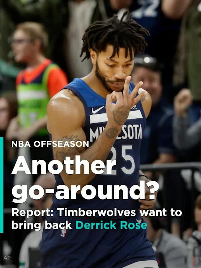 Thibodeau and the Timberwolves want Rose back, reports Jon Krawczynski of The Athletic.