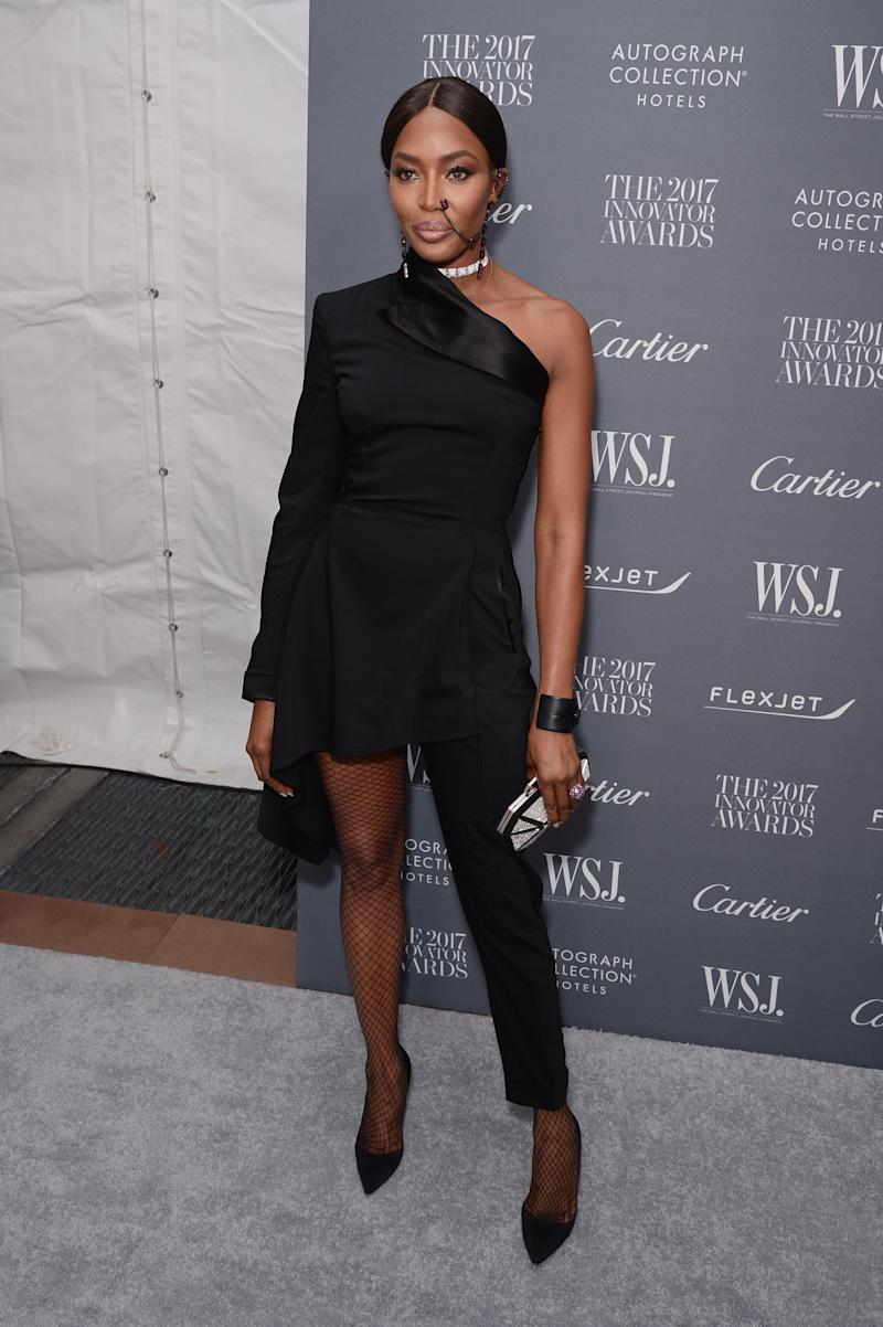 Naomi Campbell attends the WSJ. Magazine 2017 Innovator Awards at MOMA on Nov. 1 in New York City.  (Andrew Toth via Getty Images)
