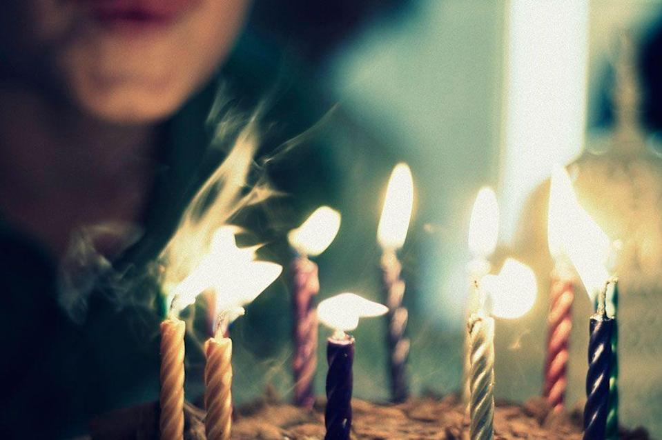 """<p>Like many others on the list, wishing on candles <a href=""""https://curiosity.com/topics/why-do-we-blow-out-birthday-candles-curiosity/"""" rel=""""nofollow noopener"""" target=""""_blank"""" data-ylk=""""slk:dates back"""" class=""""link rapid-noclick-resp"""">dates back</a> to the ancient Greeks when they would bake cakes and top them with candles to ask Artemis (the mood goddess) for a favor. The smoke from the extinguished candles was believed to carry the message up to the gods as it rises.</p>"""