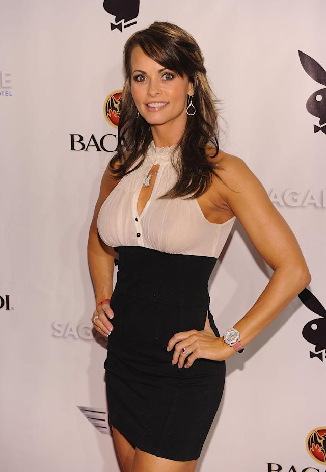 Former Playboy model Karen McDougal has apologized to Melania Trump for her alleged affair with the president. (Photo: Getty Images)