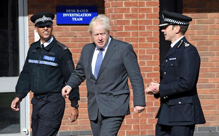 Boris Johnson 'can't just walk around on his own' - Reuters