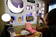 Designers said people were much more focused on their homes during the pandemic (AFP/MIGUEL MEDINA)