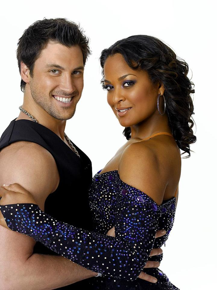 "An undefeated world champion female boxer and youngest daughter of sports legend Muhammad Ali, <a href=""/laila-ali/contributor/117413"">Laila Ali</a> teams up with professional dancer <a href=""/maksim-chmerkovskiy/contributor/2187851"">Maksim Chmerkovskiy</a> for Season 4 of <a href=""/dancing-with-the-stars/show/38356"">Dancing with the Stars</a>"