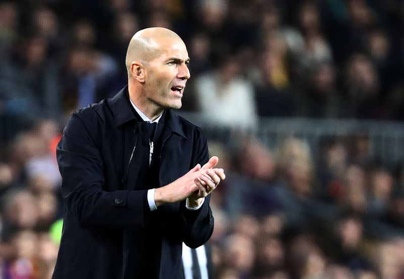 Zidane draws little cheer from stalemate