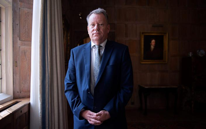 Sir David Frost - David Rose for The Telegraph