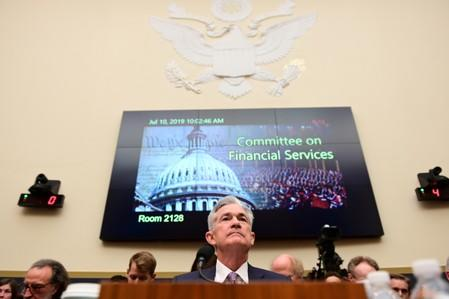 Jerome Powell testifies before the House Financial Services Committee in Washington