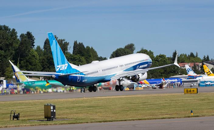The final version of the 737 Max 10 flew for the first time on June 18. Because of the plane's extended body, pilots must take special care during takeoff and landing so that the tail does not hit the ground.
