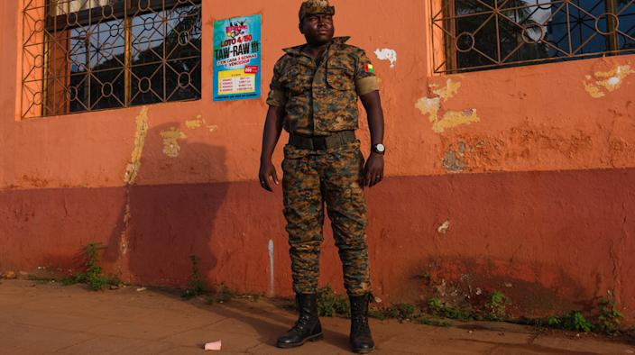 The military wields enormous influence in Guinea-Bissau