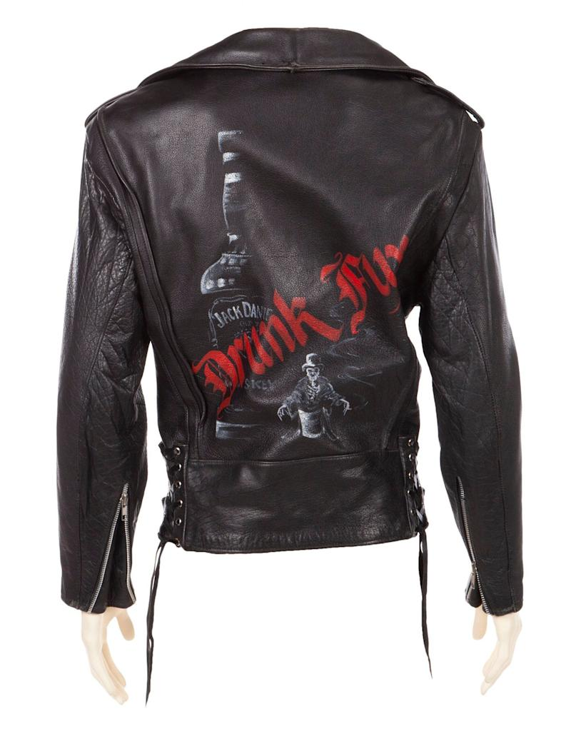 One of Slash's leather jackets is expected to sell for a cool $3,000. (Photo: Julien's Auctions)