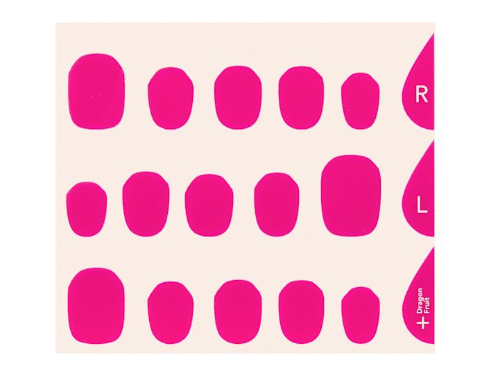 """<p>Stick-on nails have gotten a high-tech makeover. Just upload photos of your nails to the app for custom laser-cut gel stickers delivered in four to seven days.</p> <p><strong>Buy it!</strong> $15; <a href=""""https://manime.pxf.io/c/249354/932311/12634?subId1=PEOIntroducingPEOPLEsProductsWorththeHypein2021khogan1271StyGal12821774202107I&u=https%3A%2F%2Fmanime.co%2F"""" rel=""""sponsored noopener"""" target=""""_blank"""" data-ylk=""""slk:manime.co"""" class=""""link rapid-noclick-resp"""">manime.co</a></p>"""